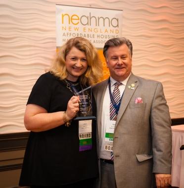 Kristin Pine, Peabody Properties, Inc.-NAHP-e of the Year