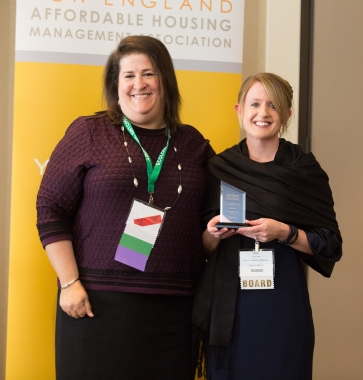 President's Service Award- Lynne Sales, Peabody Properties, Inc.
