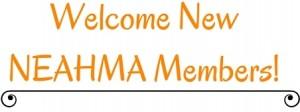welcome new members logo